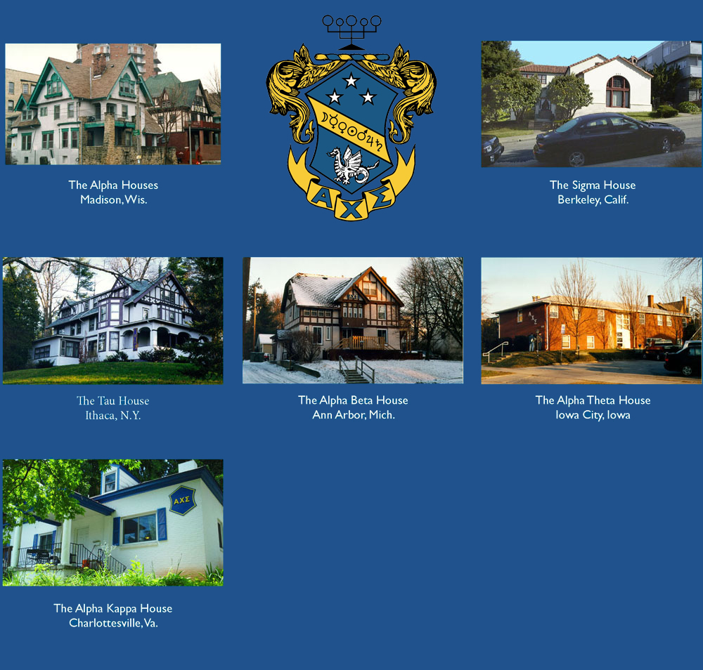 Photos of each collegiate house