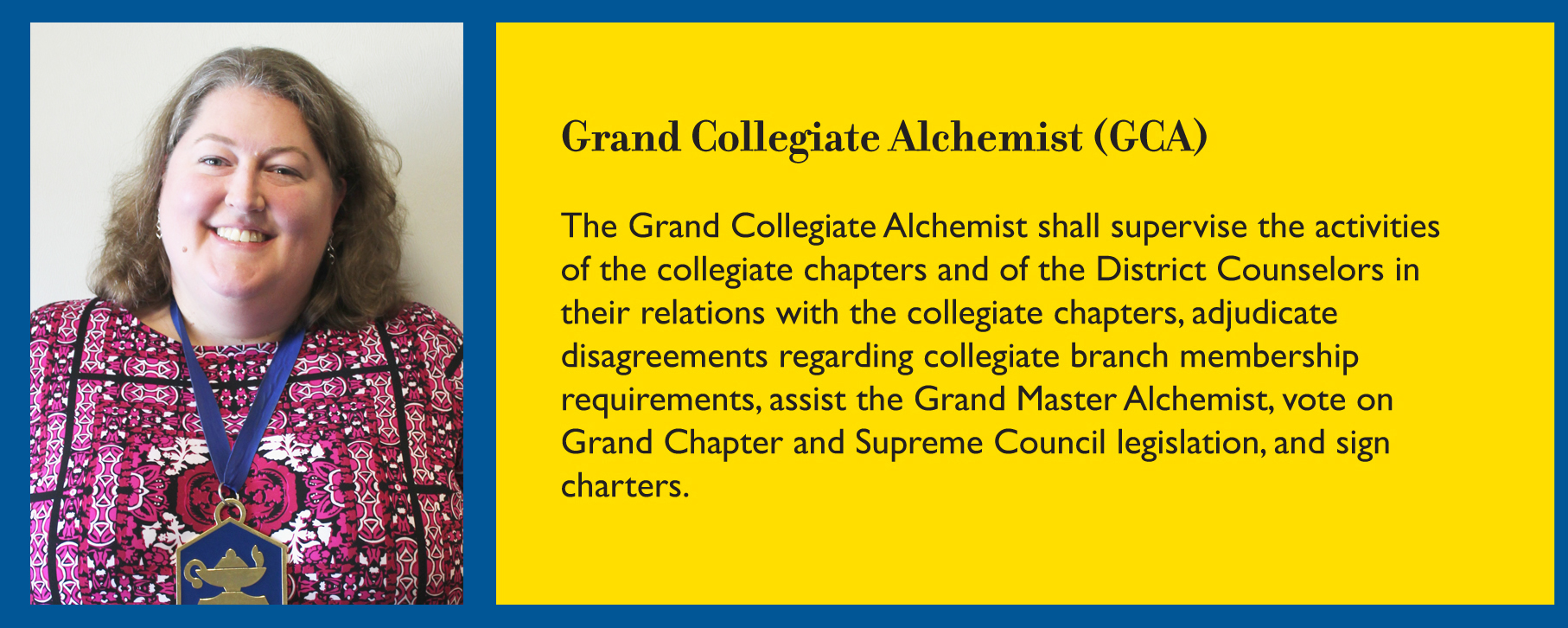 Grand Collegiate Alchemist
