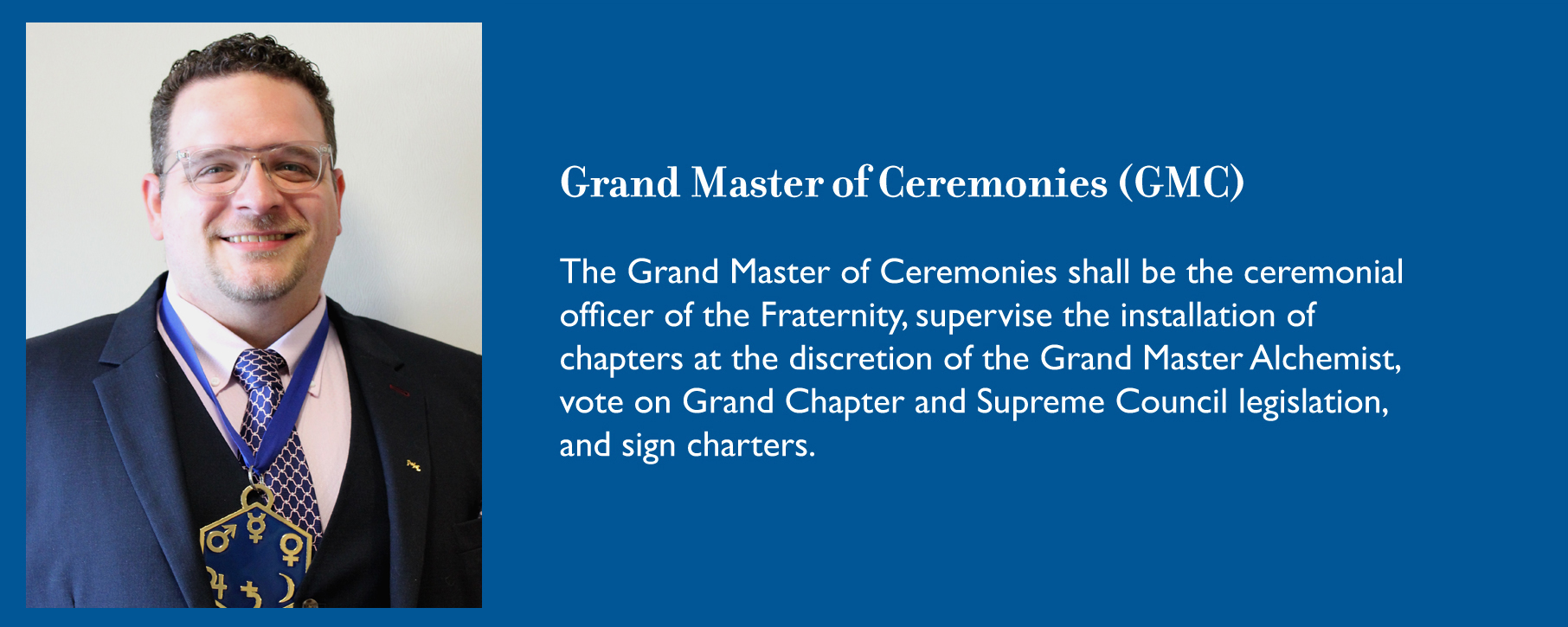 Grand Master of Ceremonies