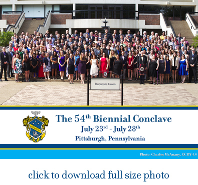 Click to download full version of Conclave Group Photo