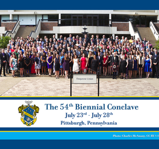 Alpha Chi Sigma Biennial Conclave Group Photo