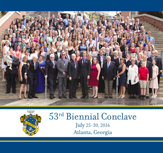 Alpha Chi Sigma Biennial Conclave Group Photo