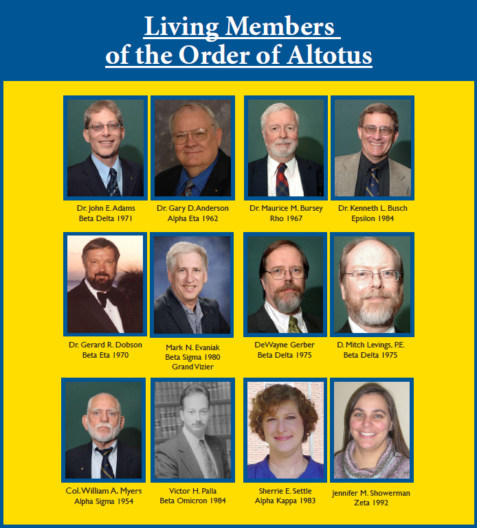 photos of living members of the Order of Altotus