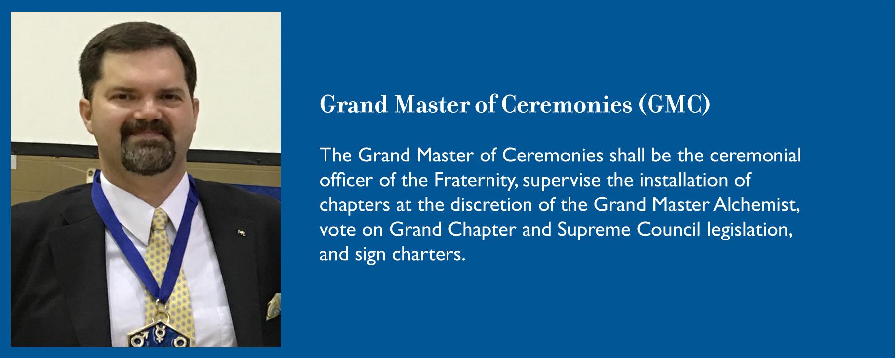 Grand Master of Ceremonies